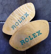2 EXTRA RARE VINTAGE ROLEX DISPLAYS PLAQUES 1950 1960 GILT ERA from DEALERS