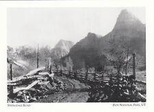 (18220) Postcard - Zion National Park - Springdale Road (modern card)