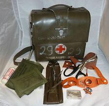 San.- Tasche; Sanitätspersonal; Verbandstasche, oliv;  Erste Hilfe; Bundeswehr
