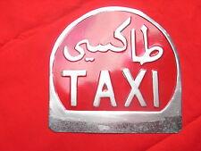 Taxi Taxischild Original selten Marokko nur 2x da