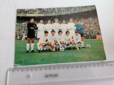 REAL MADRID FC, SEASON 1971-1972, TEAM POSTCARD