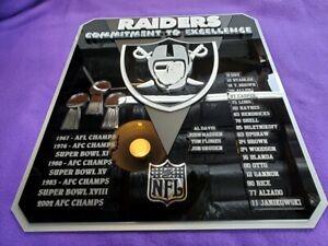 RAIDERS CUSTOM 3D SIGN ART man cave NFL fantasy football NEW Super Bowl classic