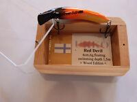 """TURUS UKKO - Red Devil  -  6 cm - """"Wood  Edition"""" -  aus Sammlung -"""