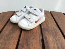 Nike Court Trad 2 Kids Boys White Trainers  Size  Infant UK 4