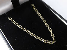Vintage 9ct Yellow Gold Prince of Wales Chain – 18 Inch