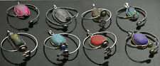 Turquoise & Mix stone 925 sterling silver plated Bangles & pendant wholesale Lot