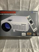 "Magnavox Bluetooth Home Movie Theater Projector 100"" 2000 Lumens 1080p MP601"