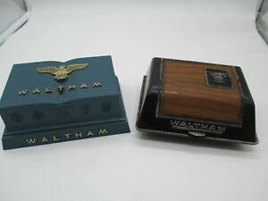 Vintage Lot (2) Waltham Watch Boxes
