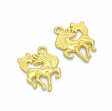 NEW Wholesale 10pcs Tibet silver Horse Charm Pendant beads Jewelry Making DIY _