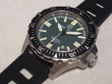 DEEP BLUE DAYNIGHT OPS T-100 AUTOMATIC, 500M DIVER, FLAT TRITIUM TUBES, SAPPHIRE