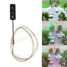 HO / OO Model 3-light Traffic Lights Block Signal Crossing Street Signals 56mm