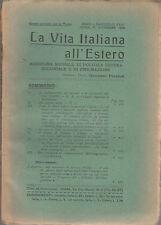 LA VITA ITALIANA ALL'ESTERO RASSEGNA DI POLITICA ESTERA ANNO II 15 DICEMBRE 1914