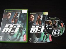 Microsoft Xbox complete in case  Mission: Impossible Operation Surma tested