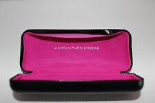 Authentic DVB Diane von Furstenberg Sunglasses Case Black Glasses Clam Shell