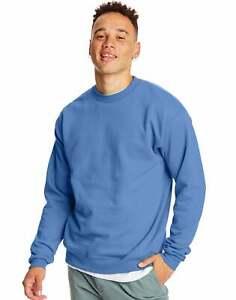 Hanes Sweatshirt Comfort Blend Eco Smart Crew Long Sleeve Crewneck Fleece Knit