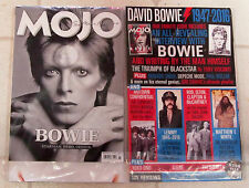 MOJO Magazine March 2016 DAVID BOWIE Starman HERO Genius TRIBUTE + Posters RUSH