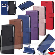 Funda para Samsung Galaxy S10 A50 A40 A70 A30 Cuero Abatible Tarjeta Billetera cubierta del teléfono