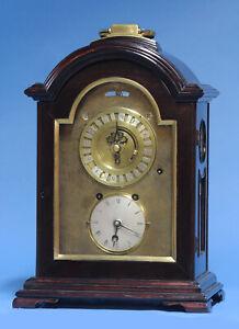 c.1840 Rare Japanese Dual Time Bracket Clock.