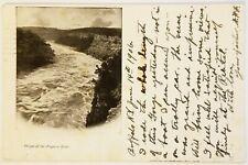 Gorge of the Niagara River New York Postcard antique
