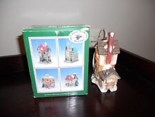 Village Buildings Collection lot of 2 Creek Mill and Inn lighted