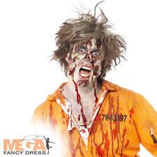 Zombie Skin Latex Kit Halloween Fancy Dress Adults Make Up Accessory Set