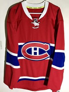 Reebok Authentic NHL Jersey Montreal Canadiens Team Red Alt sz 46