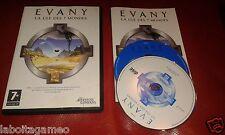 EVANY LA CLE DES 7 MONDES ADVENTURE COMPANY PC CD-ROM PAL  WINDOWS
