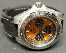 Men's Casio MDV-301 Diver Watch 200M Orange Dial Marlin New Battery