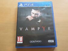 Sony PS4 Vampyr Game - Very Good Condition