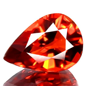 0.92ct FLAWLESS 100% NATURAL UNHEATED RARE BEST 5A+ RED SPINEL PERFECT CUT GEM!