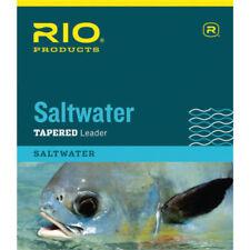 0X//2X 15LB//8.5 LB FRESHWATER NYLON FLY FISHING LEADERS RIO EURO NYMPH 11-12/' FT