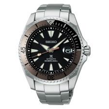 Seiko Prospex Bronze Grey Rootbeer Shogun Men's Titanium Watch SPB189J1