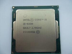 INTEL CORE  i5-6400@ 2.7 GHz QUADCORE SR2L7 CPU LGA 1151