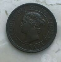 1891 Canada 1 One Cent - Nice Condition