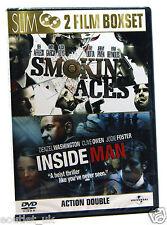 Smokin' Aces & Inside Man DVD Region 2 NEW SEALED 2 Film Boxset