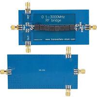 RF SWR Reflexion Brücke Antenne Analyzer Rückflussdämpfung Modul 0.1-3000 MHZ RF