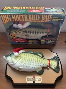 1999 Big Mouth Billy Bass- Sings for the Holidays - Gemmy Industries (G3) Tested