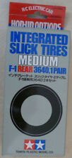 Tamiya F1 Integrated Medium Slick Rear Tires NEW 53139