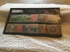 Barbados Mint Set Sg 271/282 Cat Val £56