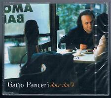 GATTO PANCERI DOVE DOV'E CD SINGOLO SINGLE cds SIGILLATO!!!