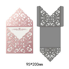 Hollow Lace Envelope Metal Cutting Dies Stencil Scrapbook Embossing Card Crafts