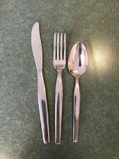 3 Old Company Stainless Flatware FUTURA Youth Children's Child's Set