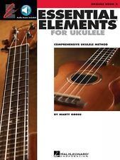 Essential Elements Ukulele Method Book 2 with Audio - New 000130322