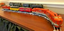 Marx EMD F Units, Southern Pacific Daylight Livery, Complete Set Great Condition