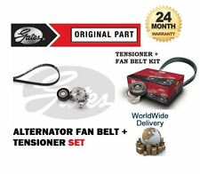 FOR VOLKSWAGEN VW GOLF 1.9TDI 1999-2006 8V ALTERNATOR FAN BELT + TENSIONER KIT