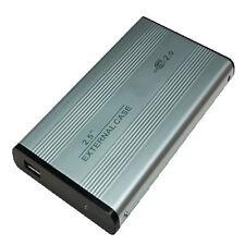 BOX ALUMINIO DISCO DURO EXTERNO IDE 2.5 CON USB 2.0
