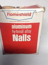 "Nichols Homeshield Aluminum Nails 1 7/8"" STATUARY BRONZE redwood/vinyl/cedar"