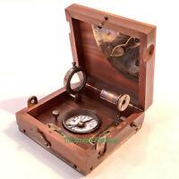 Antique Ship Nautical Marine Box Collectible Gift