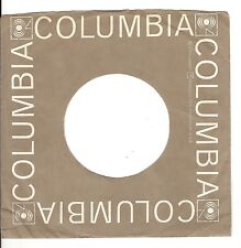 45RPM, RECORD SLEEVE ONLY ' COLUMBIA LABEL ' VG+ '