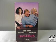 Legal Eagles VHS Robert Redford, Debra Winger, Daryl Hannah